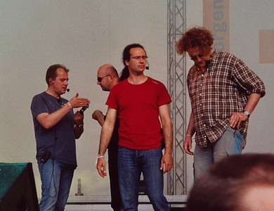 Wise Guys beim Kirchentag Hannover 2005